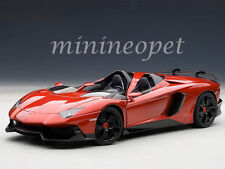 AUTOart 74673 LAMBORGHINI AVENTADOR J 1/18 DIECAST MODEL CAR METALLIC RED