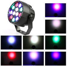 12 LED RGBW 8CH Bühnenbeleuchtung DMX-Farbmischung DJ KTV Bar Par-Licht