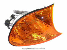 BMW E46 Turn Signal Light with Yellow Lens Right / Passenger Side Front OEM