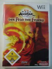 !!! Nintendo wii jeu Avatar le chemin du feu, d'occasion mais bien!!!