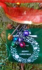 Barba bolas x10 Navidad Barba Jingle Bells Ideal Secreto Santa Stocking Aseo