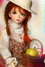 1/6 Bjd Doll SD iplehouse kid lonnie Free FACE MAKE UP+FREE EYES_Type F