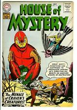 HOUSE OF MYSTERY #112, 7/61, rare US DC horror sci-fi comic book, Very Fine, 8.0