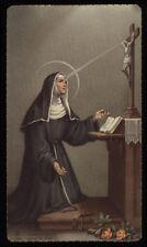 "santino-holy card""""ediz. FB***  n.1544 S.RITA DA CASCIA"