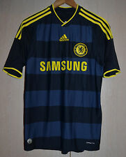 SIZE S CHELSEA LONDON 2009/2010 AWAY FOOTBALL SHIRT JERSEY MAGLIA ADIDAS ENGLAND