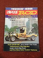 Rod Action Magazine November 1972   'C' Cab Tow Truck