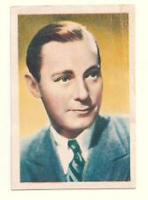 1936 Spanish Nestle Film Star Paper Thin Stamp Sticker #8 Herbert Marshall