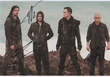 Trivium Autogramme full signed 20x30 cm Bild