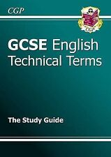 GCSE English Technical Terms Study Guide by CGP Books (Paperback, 1999)