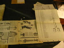 """MONITOR PR Water Systems Pump INSTRUCTION MANUAL Spool Type Pittless Unit 5"""" 6"""""""
