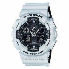 -NEW- Casio G-Shock White Magnetic Resistance Watch GA100L-7A