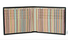PAUL SMITH Multistripe Billfold Wallet