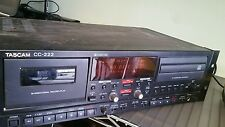 TASCAM CD Recorder Cassette Deck CC-222 CC222 Rack Mount Player