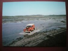 POSTCARD PO BOX 1 ROYAL MAIL POSTBUS SERVICE 78 - CROSSING THE ISLANDS OF COLONS