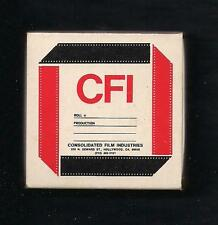 CFI CONSOLIDATED FILM INDUSTRIES VINTAGE HOLLYWOOD CALIFORNIA MATCHBOX NICE!