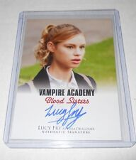 Vampire Academy Blood Sisters Autograph Trading Card #A-LF1 Lucy Fry as Lissa