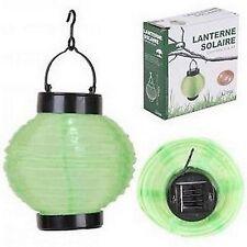 LAMPION lampe exterieur LAMPE DECO SOLAIRE LED A SUSPENDRE JARDIN neuf 350