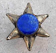 Lapis Afghan Kuchi Star Ring Tribal Jewelry Festival Hippie Gothic Ethnic Gypsy
