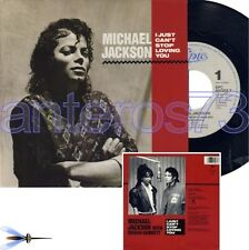 "MICHAEL JACKSON ""I JUST CAN'T STOP"" RARE 45RPM - MINT"