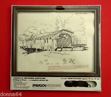 Covered Bridge Embroidery Kit America's Treasured Survivors Paragon 0424