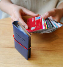 Extra Card Book Credit Business Name Card Case Holder Pocket Wallet Storage