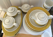 SET OF SCULPTURA MAYER CHINA #277****PLATES, BOWLS, TEA POTS,ETC. VERY LG SET