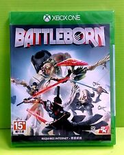 Free shipping new XBox One XB1 Battleborn Battle Born (HK English/ Chinese) +DLC