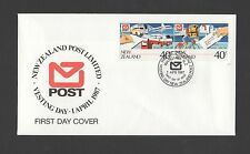 New Zealand 1987 FDC Vesting Day stamp issue set stamps