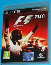 F1 - Formula 1 2011 - Sony Playstation 3 PS3 - PAL