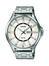 CASIO MTP-E108D-7AVEF Collection watch with white dial analogue display