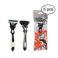The World's First Dorco Pace 6 Blade Disposable Razor Men's SXA100 5 pcs