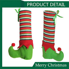1PCS Elf Foot Chair or Table Leg Covers Xmas Party Christmas Table Decorations