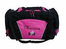 Personalized Duffel Bag Dance Dancers Ballet Tap Custom Embroidered Personalized