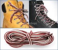 "White & Ruby 90cm Timberland Hiking Trekking Shoe Work Boot Laces Trek Hike 36"""