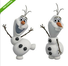 Disney FROZEN OLAF snowman wall stickers 25 decals decor icy winter snowflakes