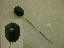 Victorian 10K Gold Real Scarab Beetle Stick Pin / Antique