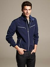 Banana Republic Lightweight Moto Jacket, Size XL Tall - $150.00