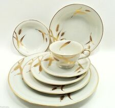 Meito Ivory China MIDAS Complete 7 Piece Place Setting (s) Excellent Japan