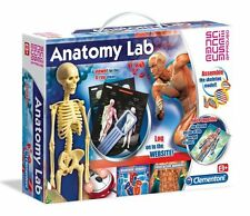 Clementoni ANATOMY LAB Puzzle SKELETON Model Experiments SCIENCE MUSEUM Approved