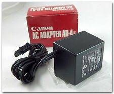 Genuine/OEM Canon Class 2 Transformer AC-DC Adapter: AD-4 II 4.5vDC 600mA 120V
