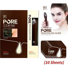 Pore Remodeling Cleansing Mask & Clear Pad 10 + 2 Blackhead Removal + Free Gift