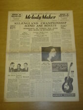 MELODY MAKER 1935 JUN 15 MILLS BROTHERS LOU PREAGER ROY FOX BIG BAND SWING