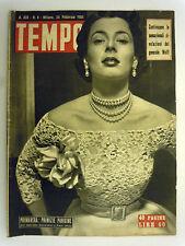 Tempo rivista sett. - n°8 Febbraio 1951