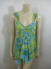 *Sweet Pea Anthropologie* NWT Multi-Color Sleeveless Woman Top Blouse Size M