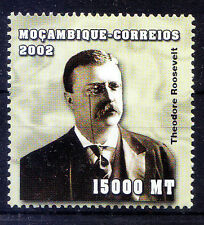 Mozambique 2002 MNH, Theodore Roosevelt, 26th President of the United States -L5