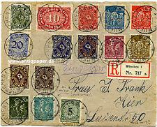 Reco Brief-Vorderseite MiF Inflation Infla München innerorts 1923