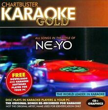 CHARTBUSTER KARAOKE GOLD CD ALL SONGS IN THE STYLE OF NE-YO BRAND NEW SEALED