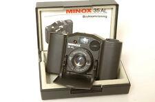 MINOX 35 AL 35MM 4 COMP.CAMERA.BOX.FREE WW SHIP. MINTY