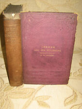 Antique Collectable Book Joshua And His Successors, By William H. Groser- 1870's