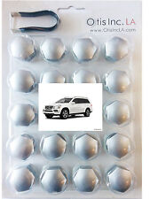 99-9712-S-GL-Class SILVER lug covers MERCEDES GL Class wheels FREE SHIPPING
